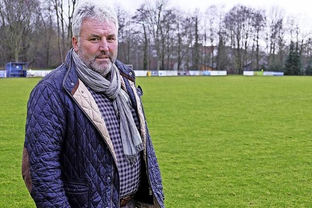 Neuer Rasenplatz für FC Heitersheim