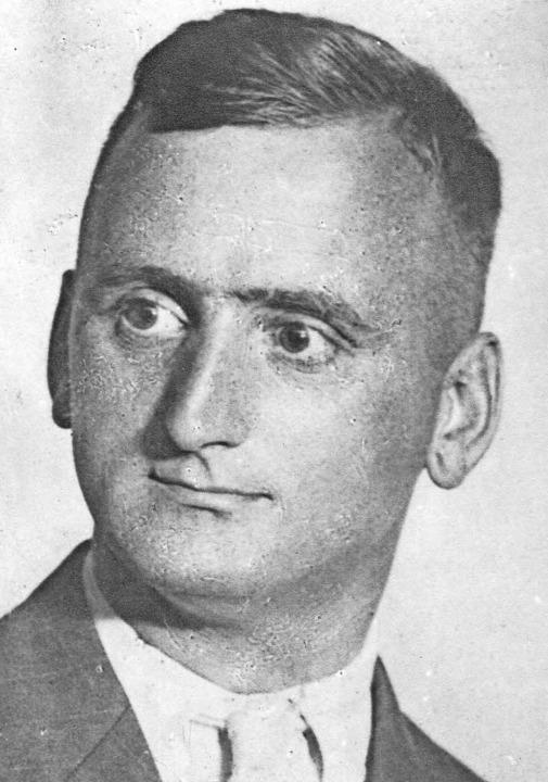 Gustav Zirlewagen im Jahr 1933     Foto: privat