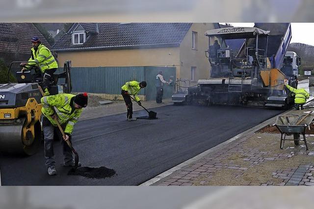 Straßensanierung macht Fortschritte