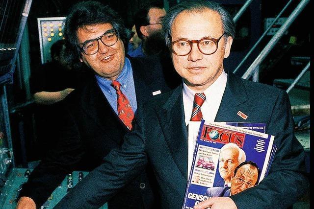 Vor 25 Jahren ist das Magazin Focus in Offenburg zum ersten Mal erschienen