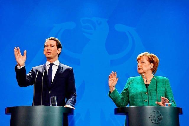 Merkel will Österreichs Regierungschef Kurz an seinen Taten messen
