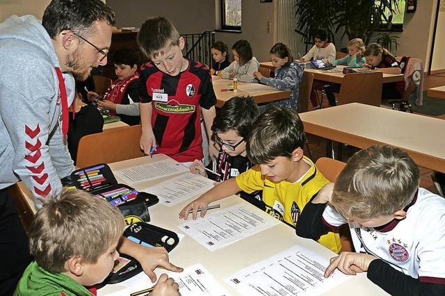 Sport als Türöffner für Lese- und Schreibkompetenz