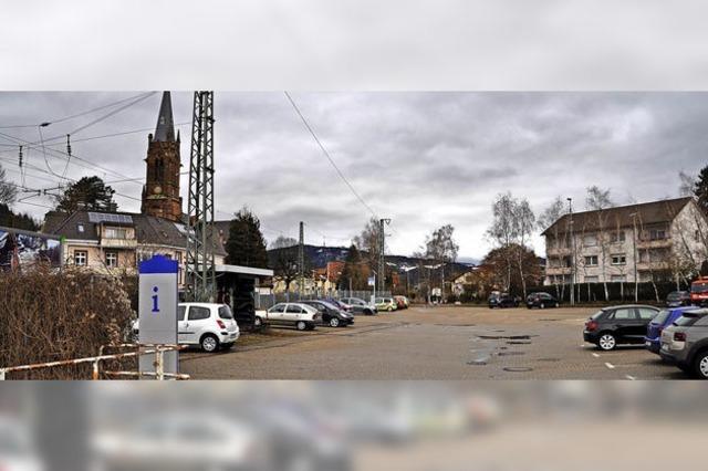 Wie geht es weiter mit dem Ex-SBG-Parkplatz in Schopfheim?