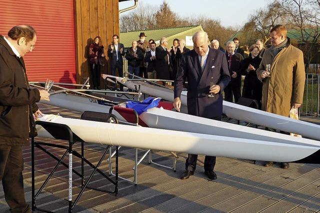 Ruderer freuen sich über drei neue Boote