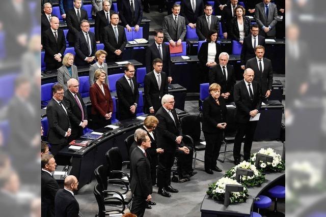 Staatsakt für Philipp Jenninger