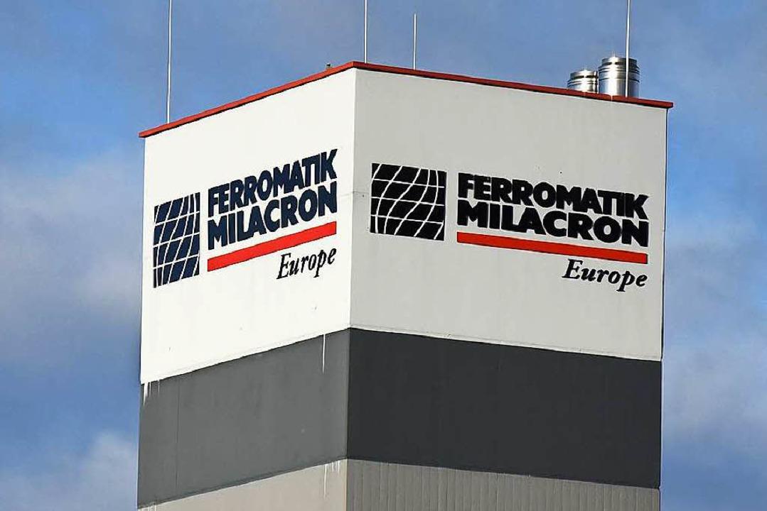 Hat schon bessere Zeiten gesehen: die Malterdinger Ferromati-Milacron-Zentrale  | Foto: Jonas Hirt