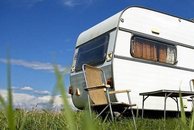Münstertaler Ehepaar lebt mehr im Wohnwagen als daheim