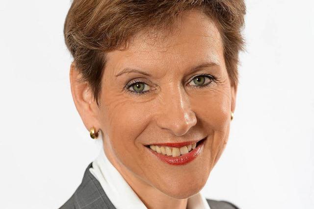 Lörrachs Landrätin Marion Dammann wirbt für eine Kultur des Respekts