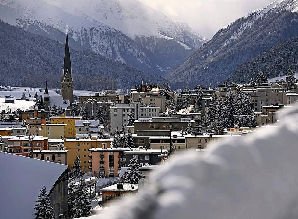 Malerisch: Davos im Winter   | Foto: AFP