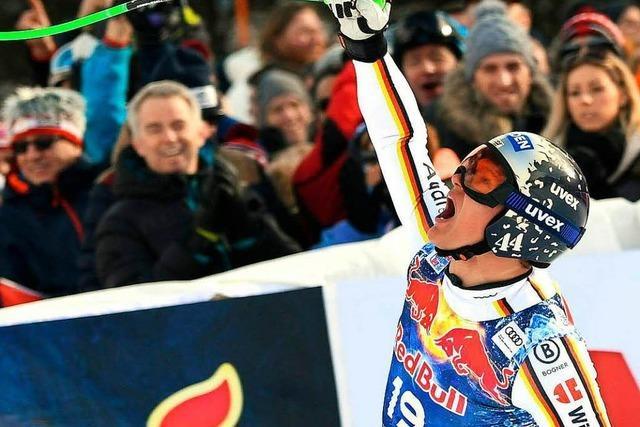 Erster deutscher Sieg in Kitzbühel seit 39 Jahren