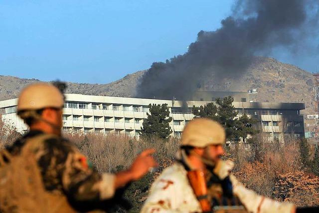 Angriff auf Luxus-Hotel in Kabul beendet: Offiziell zehn Tote