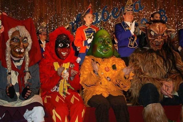 Fotos: Großes Bühnen-Spektakel beim Zunftabend Karsau