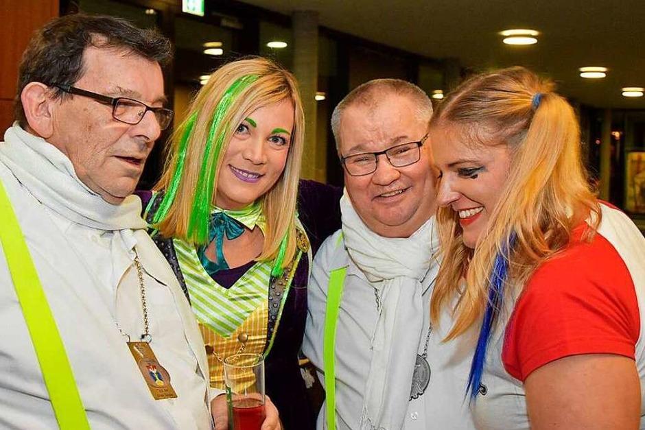 Die Nasenrümpfer-Hexen Clique Grenzach-Wyhlen feiert ihren 50. Geburtstag. (Foto: Heinz u. Monika Vollmar)
