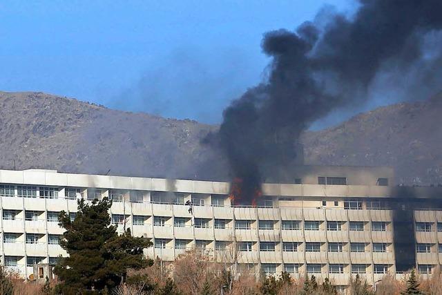 24 Tote bei Talibanangriff auf Kabuler Hotel bestätigt - 14 Ausländer