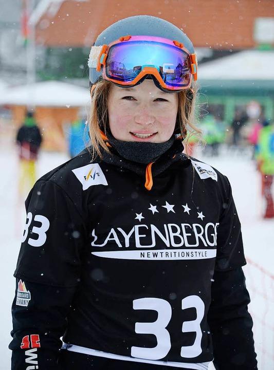 Jana Fischer, 18 Jahre altes Top-Talen...und Olympia-Kandidatin für Pyeongchang    Foto: Patrick Seeger