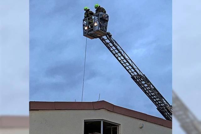 Nachbar meldet Brand