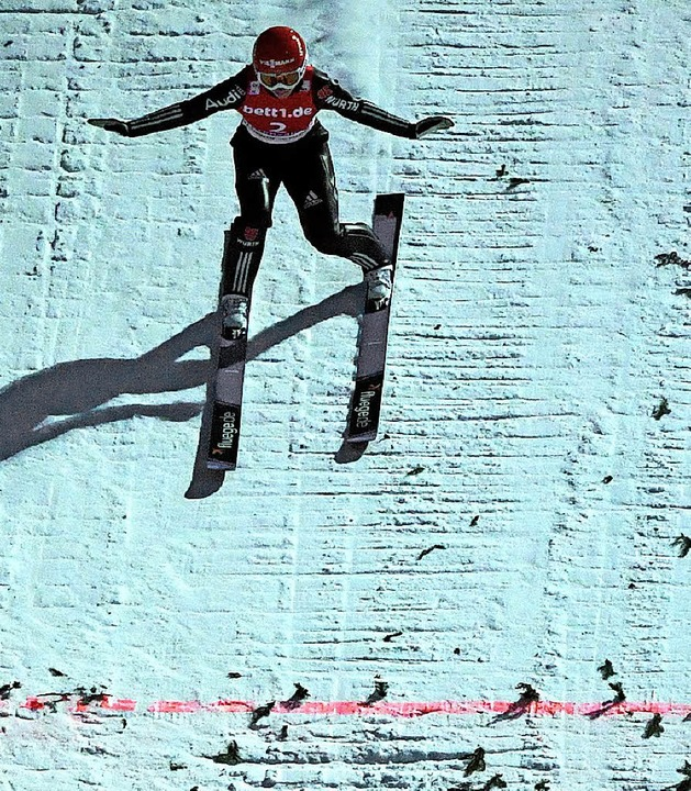 Am Traumziel: Ramona Straub darf bei Olympia landen.   | Foto: scheu