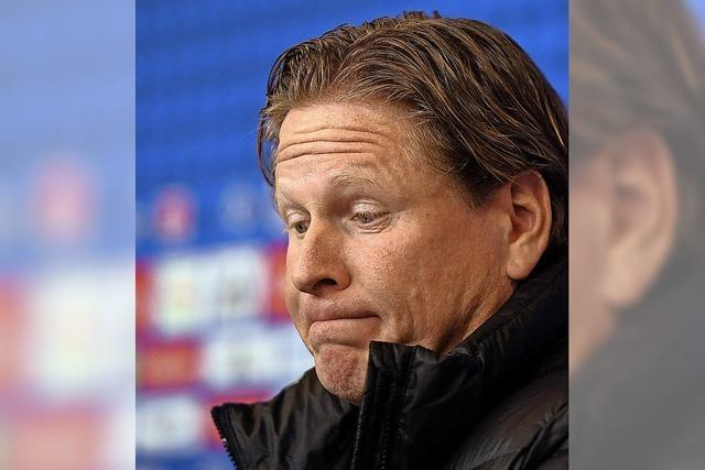 Hamburger SV will sich durch Trainerwechsel retten