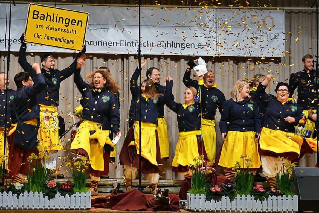 Die Silberberghexen in Aktion beim Grümpelsingen  | Foto: Christiane Franz