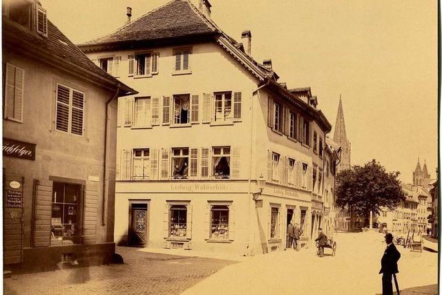 Das Haus an Oberlinden 22 wurde von Oskar Kokoschka verewigt