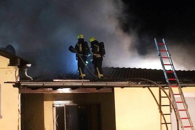Brand im Neuenburger Jugendtreff: Polizei geht von Brandstiftung aus
