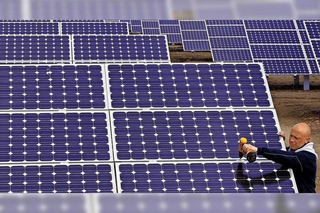 Rat ebnet Weg für einen Solarpark