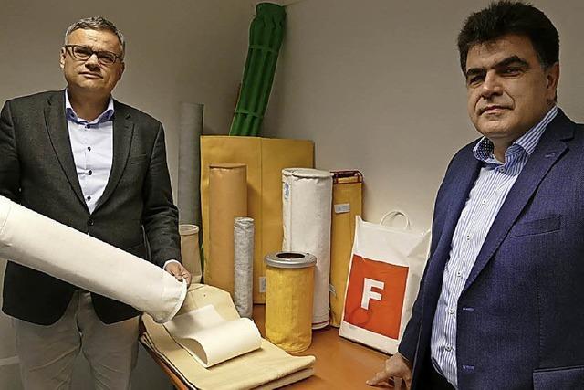 Wie die Lörracher Firma Technische Textilien mit Filz erfolgreich ist
