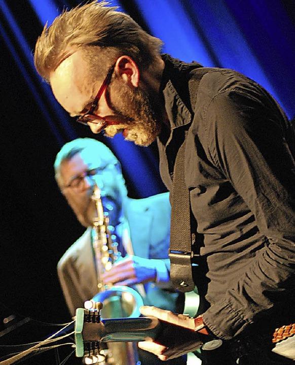 Oskar Gudjonsson und Omar Gudjonsson v...urghof auf, nun spielen sie in Basel.     Foto: Thomas Loisl Mink