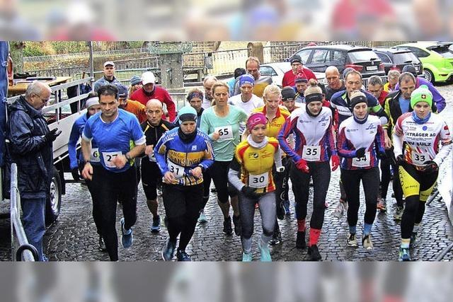 117 Starter beim Stadtlauf