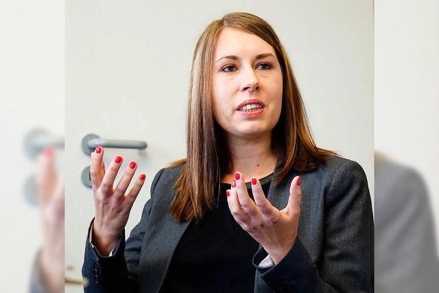 SPD-Landesgeneralsekretärin Luisa Boos: