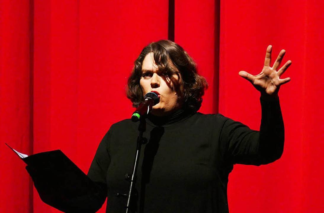 Schweizer Kabarettistin Patti Basler   | Foto: Wolfgang Grabherr