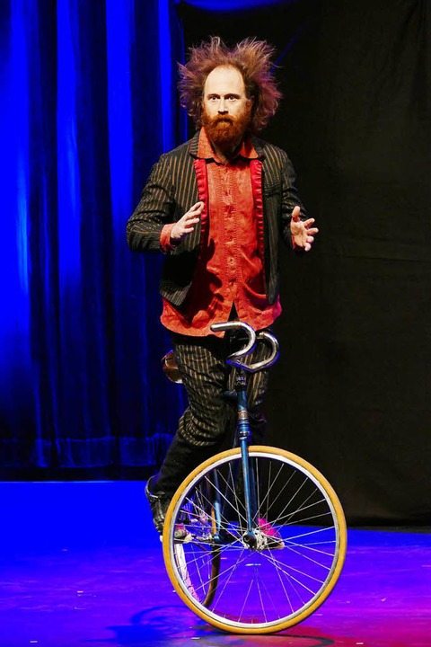 Clown auf zwei Rädern: Mick Holsbeke aus USA   | Foto: Wolfgang Grabherr