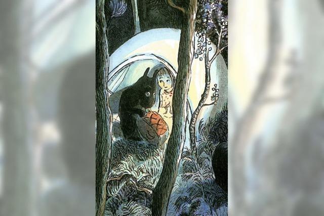 Die Stille des wilden Waldes