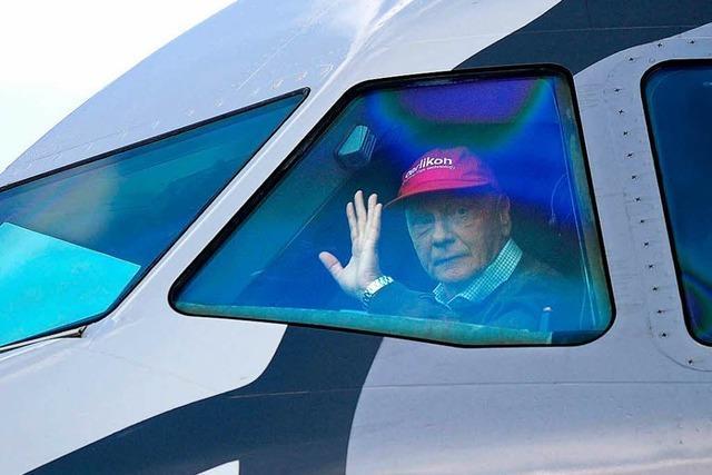 Ex-Rennfahrer Niki Lauda erhält Zuschlag für insolvente Fluglinie Niki
