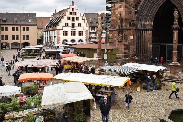 Besucher geben dem Freiburger Münstermarkt die Note 1-2