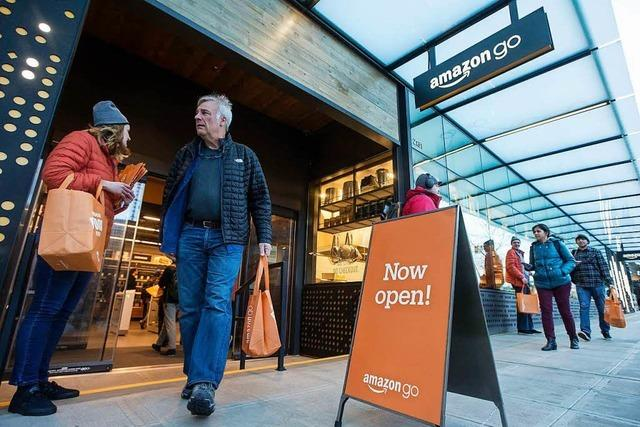 Erster Amazon-Supermarkt ohne Kassen öffnet in Amerika