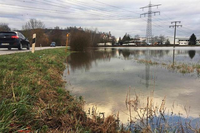 Pegel der Flüsse im Landkreis Emmendingen steigen erneut