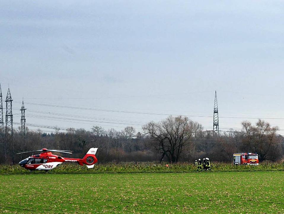 Bei einem Zusammenstoß eines Kleinflug... hat es am Dienstag vier Tote gegeben.  | Foto: dpa