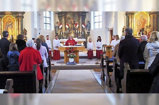 In Erinnerung an den Heiligen Sebastian