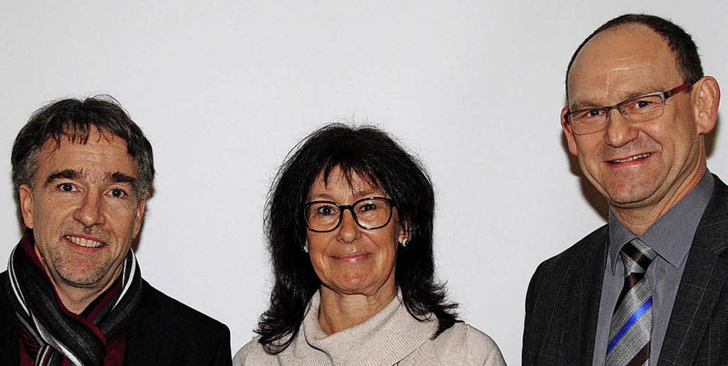 Halten den Stadtteilverein Friedlingen...le Moll und Andreas Rühle (von links)   | Foto: Sedlak
