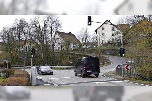 Ampel macht die Kreuzung sicherer