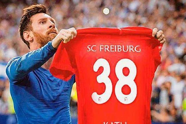 Warum Lionel Messi plötzlich Fan von SC-Kicker Florian Kath ist