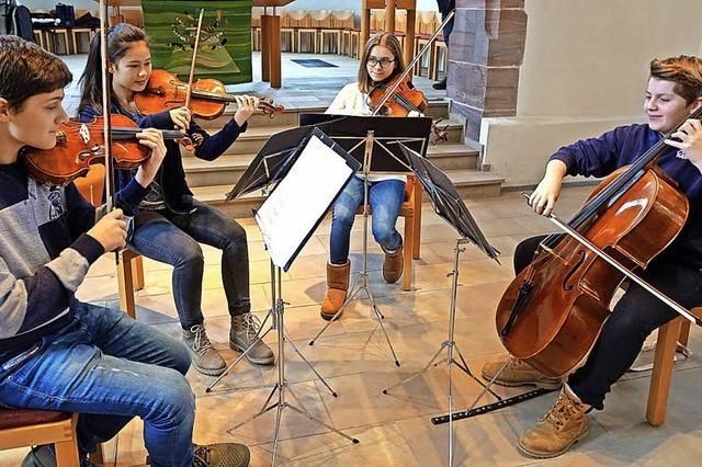 Das erste Konzert mit Bravour gemeistert