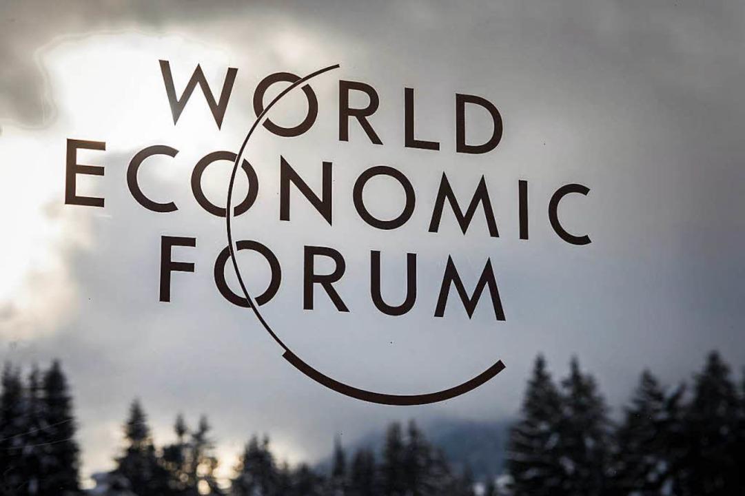 Das Weltwirtschaftsforum in Davos    Foto: AFP