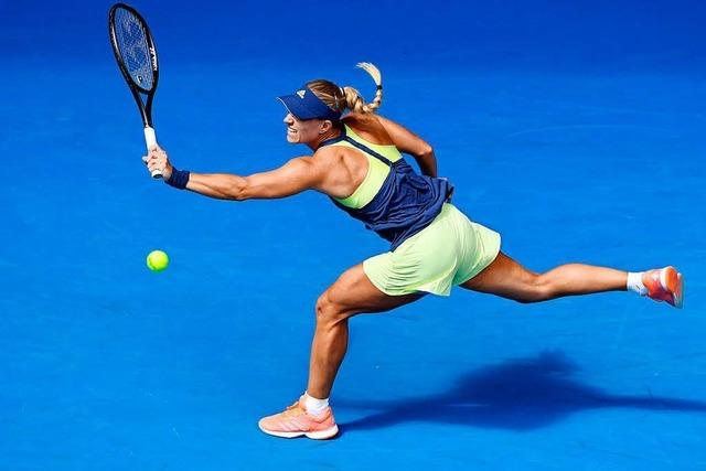 Angelique Kerber steht souverän im Halbfinale der Australian Open