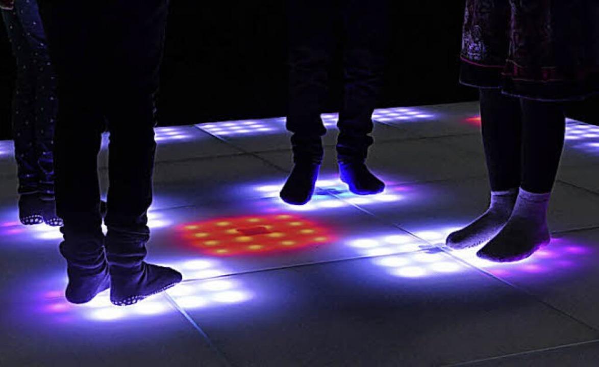 Schritt für Schritt: Musik mit  Füßen  | Foto: Silke Kohlmann