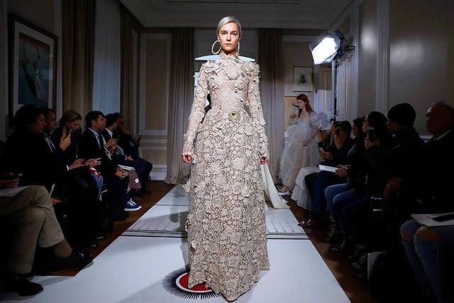 Ein Haute-Couture-Kleid zum Preis einer Wohnung