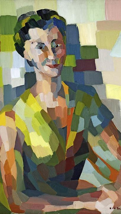 Hélène de Beauvoir: Selbstbildnis (1955)   | Foto: Christian Kempf