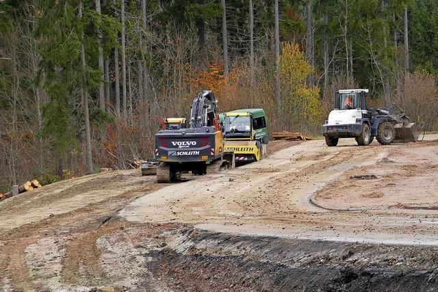 Naturgewalten bremsen Sicherungsarbeiten an der L 170 aus