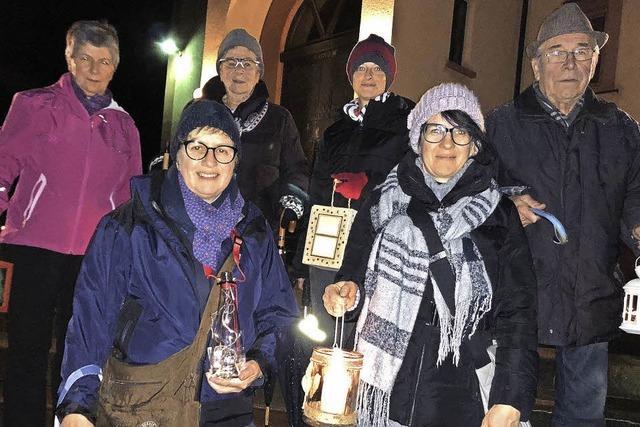 Im Kerzenschein zur Marienkapelle